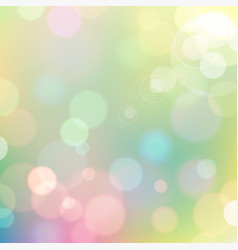 festive colorful bokeh background vector image
