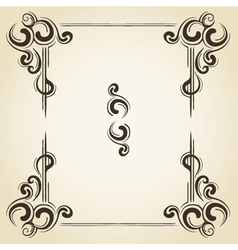 scroll collection 3 vector image