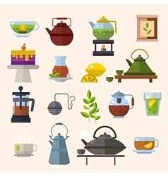 Tea ceremony concept vector image