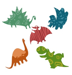 Baby dinosaurus vector image