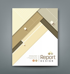Cover report abstract material triangle colorful vector image vector image