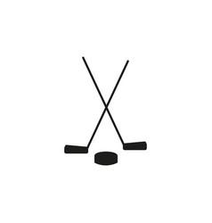 hokey icon vector image
