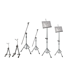 Music Microphone Guitar Stand vector image