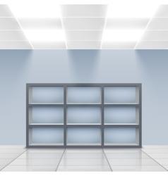 Department store interior detail vector image