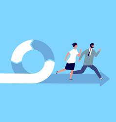 Agile concept professional plan management vector