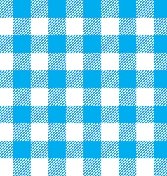 Blue tablecloth background seamless pattern vector