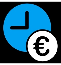 Euro Recurring Payments Icon vector image