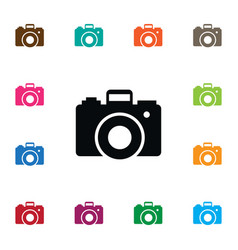 Isolated capture icon focus element can be vector