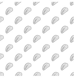 Kebab icon outline style vector