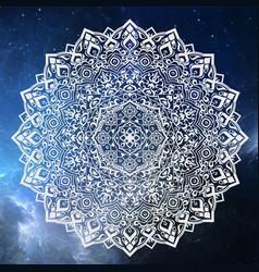 mandala sahar vector image