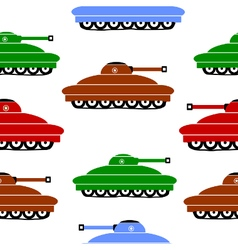 Panzer icons on white vector image