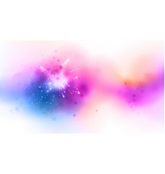 shaded colors background with light effects vector image