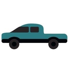 Single truck icon vector