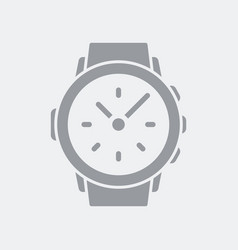 Smartwatch or wristwatch icon vector