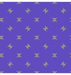 Stars geometric seamless pattern 4806 vector image