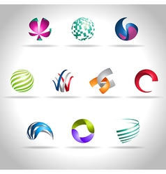 abstract icon vector image vector image