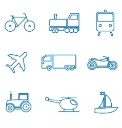 Mode of transport vector image