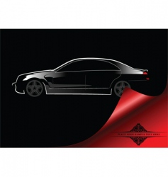 abstract car background vector image vector image