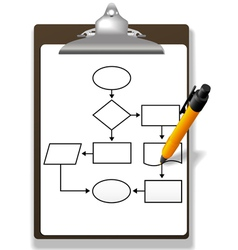 process management vector image