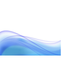 Abstract background curve line blue light vector