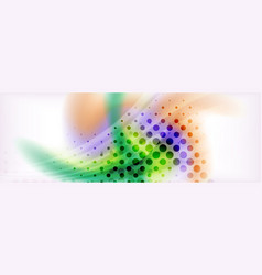Background abstract holographic fluid colors wave vector