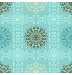 Blue seamless pattern for wall Wallpaper fabric vector