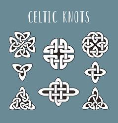 Celtic knots beautiful celtics knot symbols vector