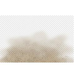 Dust or sand cloud vector