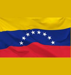 flag venezuela vector image