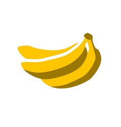 Summer bananas vector
