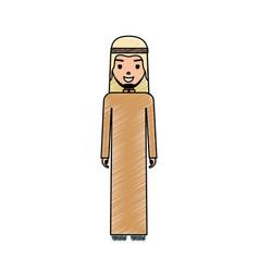 arab man cartoon vector image