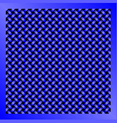 blue wire mesh abstract technology background vector image vector image