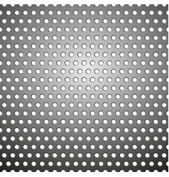 seamless metallic grid pattern vector image vector image