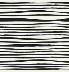 black brush lines seamless pattern black hand vector image vector image