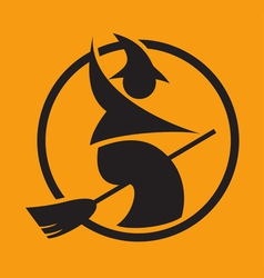 halloween pictogram vector image vector image