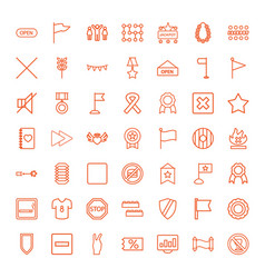 49 banner icons vector