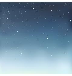 A starry sky vector