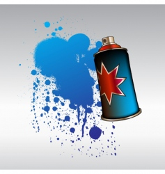 Aerosol spray vector