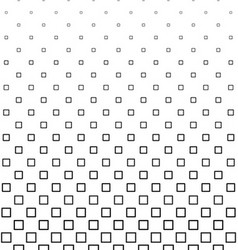 Black and white square pattern design vector