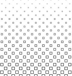 Black and white square pattern design vector image