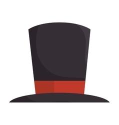 Hat magic classic accessory vector