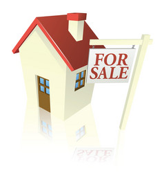 House for sale graphic vector