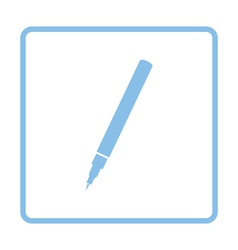 Liner pen icon vector