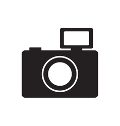 photographic camera picture flash pictogram vector image
