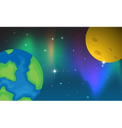 Planets vector image