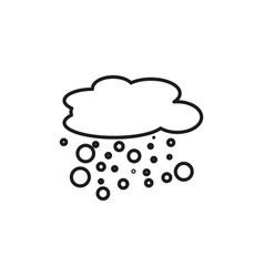 Schick snow icon vector