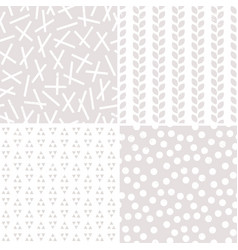 seamless neutral background patterns stone and vector image
