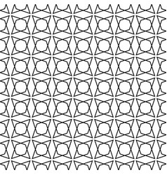 tile black white pattern for seamless wallpaper vector image