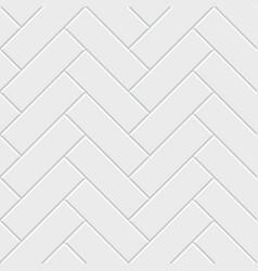 white herringbone parquet seamless pattern vector image vector image