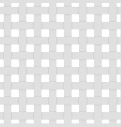 3d seamless pattern gray woven fibers vector image